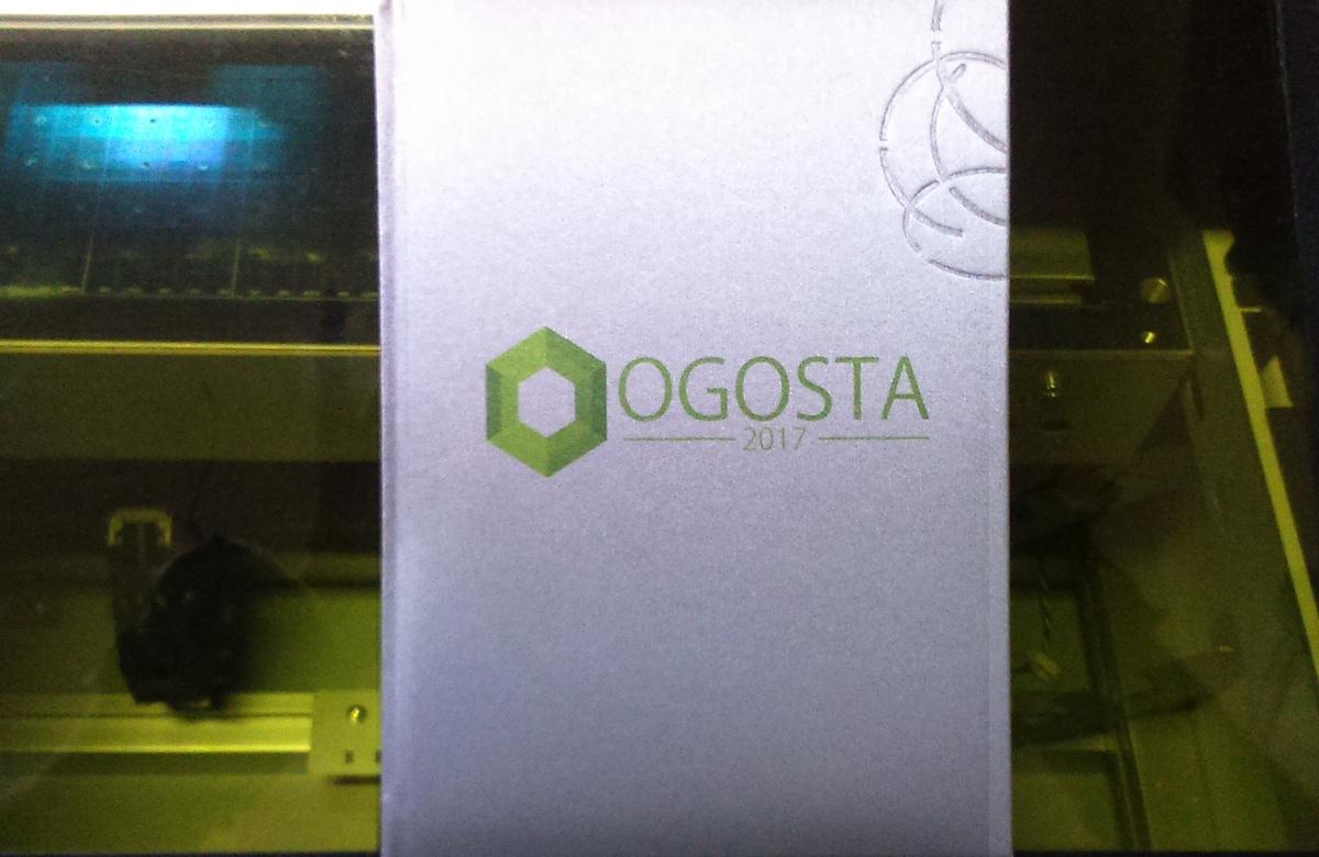 Печат върху тефтери (снимка)
