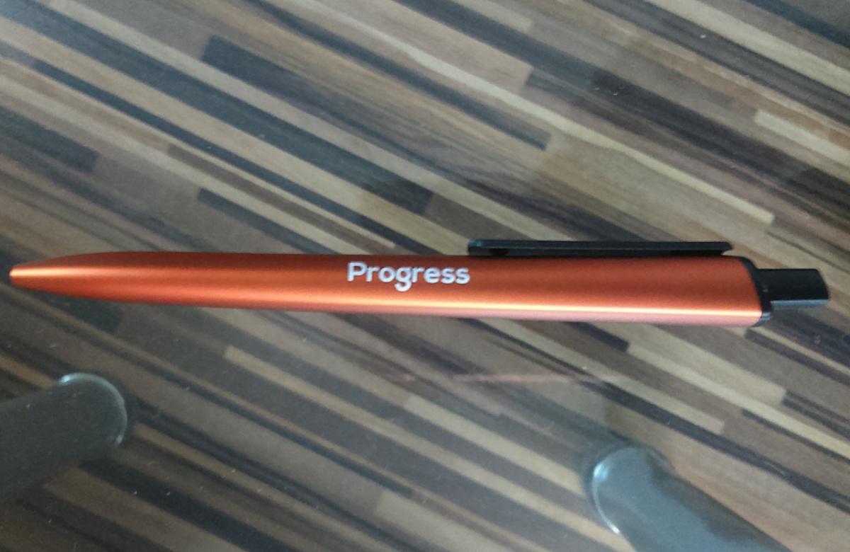 Печат върху химикалки (снимка)
